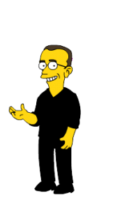 A Simpsonized image of me