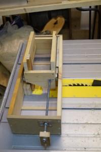Box joint jig prototype
