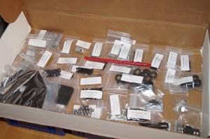 A box of parts