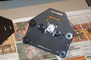 X-axis motor mount