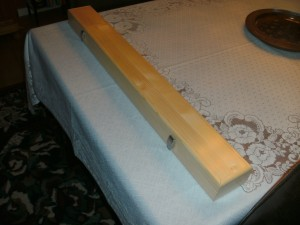 Finished pool cue case 2