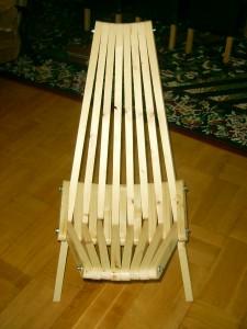 That crazy chair (Kentucky chair)