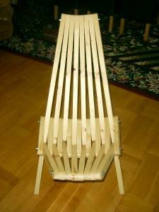 That crazy chair (Kentucky chair)