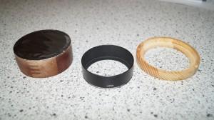 Solar filter parts
