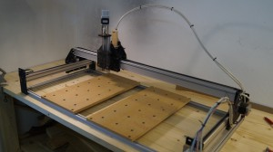 Z-axis gantry mounted.