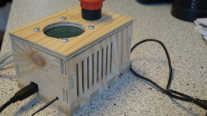 Arduino enclosure - other view.