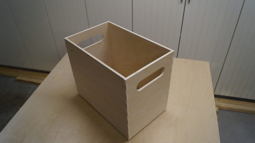 Assembled beer crate